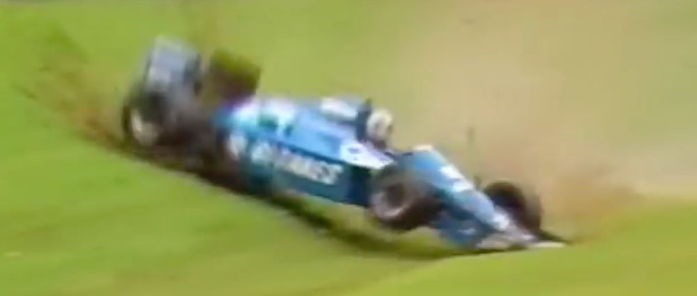 On This Day In F1 - De Cesaris Crashes And Lies About It