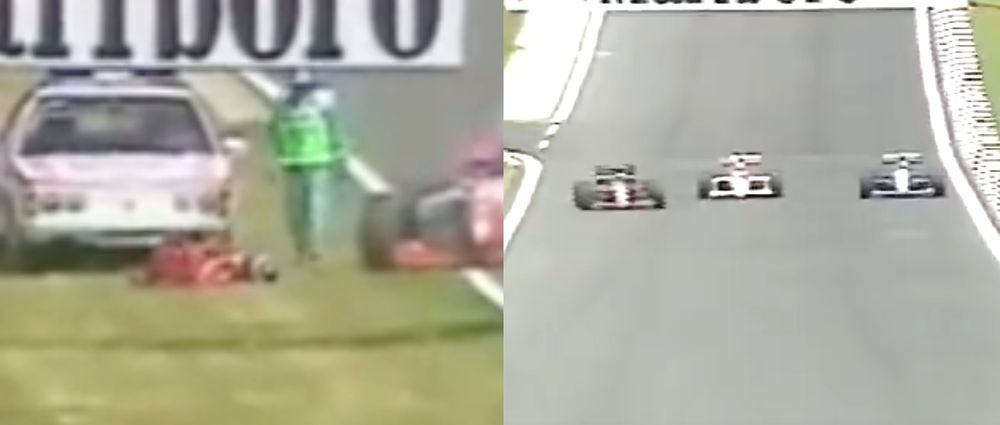 On This Day In F1 - Inoue Gets Run Over And An Overtake Actually Happens In Hungary