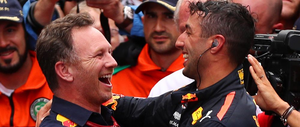 Horner Has Explained Why He Thinks Ricciardo Is Leaving Red Bull