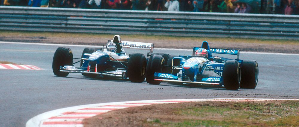 On This Day In F1 - Schumacher Stays Out On Slicks In The Wet... And Wins