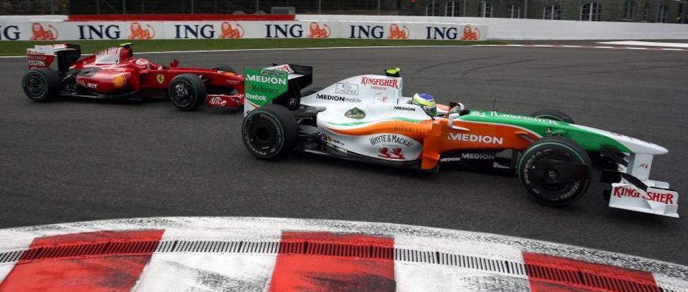 On This Day In F1 - A Force India Almost Wins At Spa