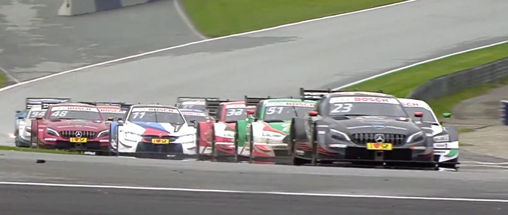 Today's DTM Race Had A Very Controversial Finish And People Aren't Happy