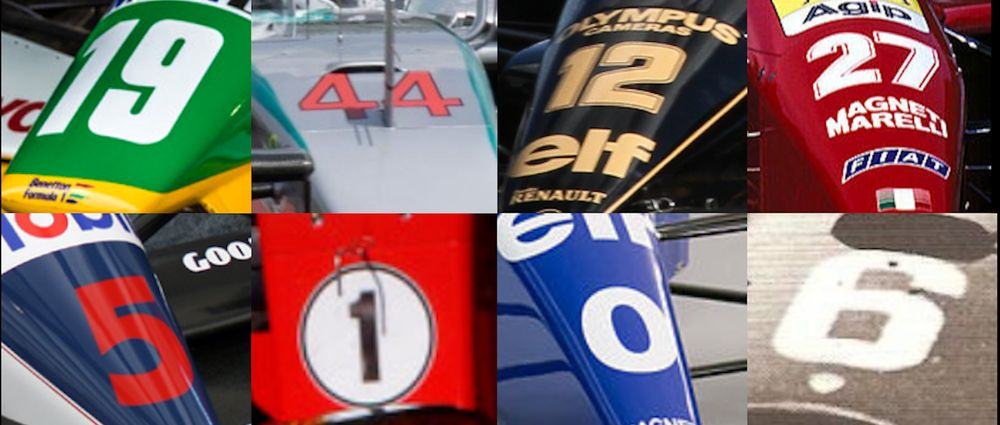 The Big F1 Driver Numbers Quiz