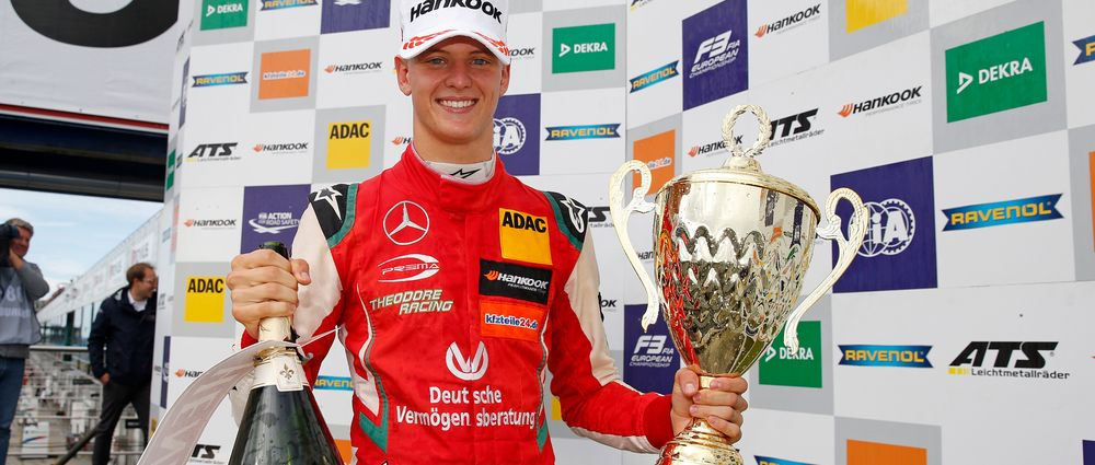 Mick Schumacher Just Won All Three Formula 3 Races At The Nurburgring