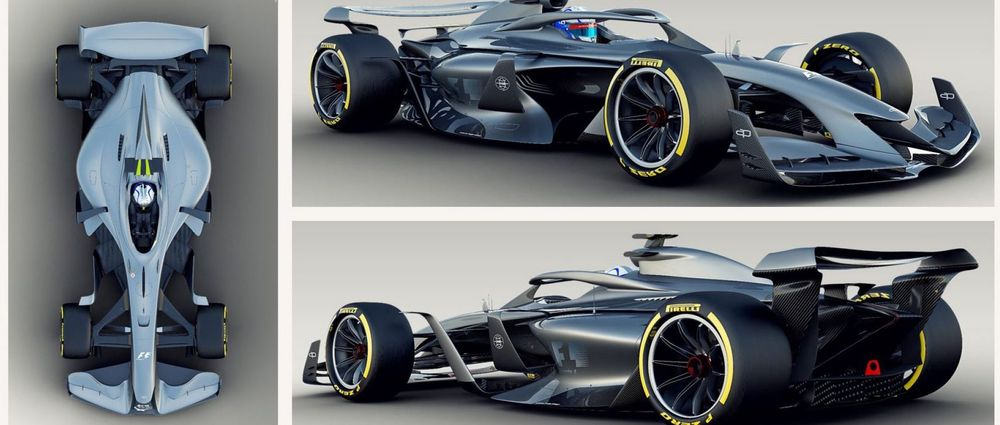 F1 Has Revealed Some More Concept Art Of Future F1 Cars And They Look Incredible