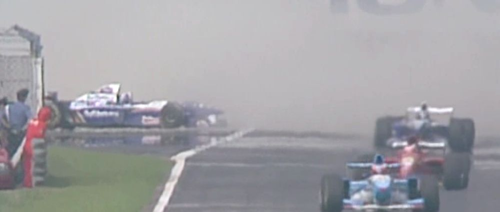 On This Day In F1 - David Coulthard Spun Off On The Warm Up Lap