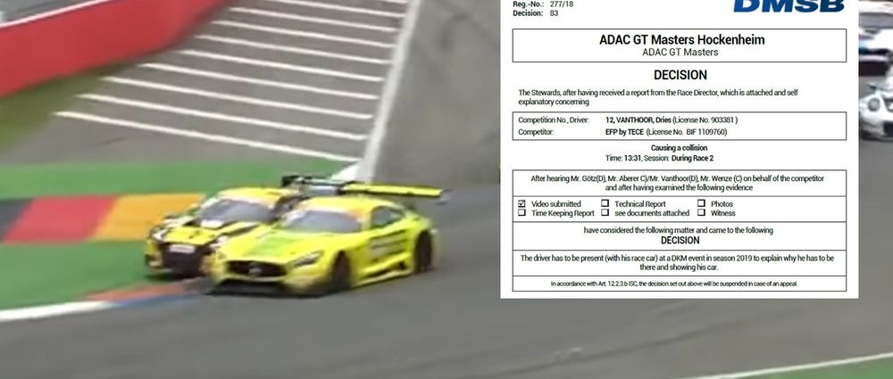 GT Masters Driver Forced To Explain His Driving To Children In Weirdest Penalty Ever