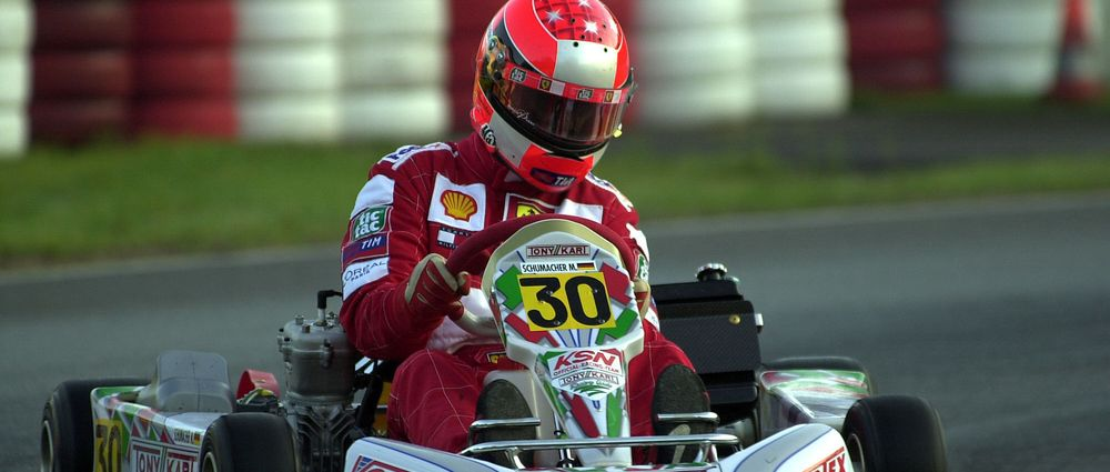 On This Day In F1 - Schumacher Went Karting Against A Young Hamilton And Rosberg