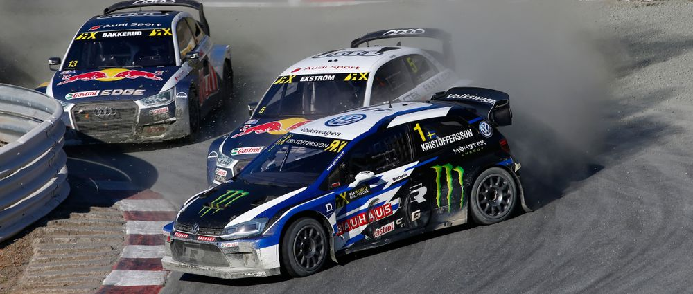 No Man Can Stop Johan From Winning Another World Rallycross Event