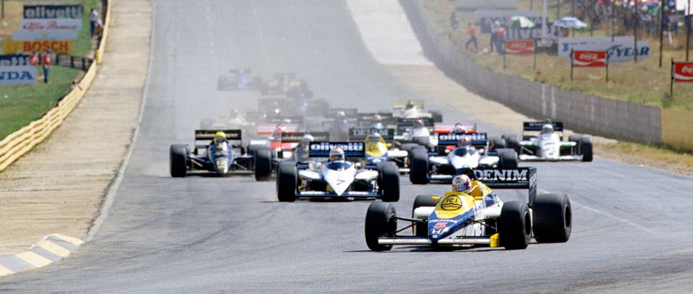 On This Day In F1 - Mansell Wins A Controversial South African Grand Prix