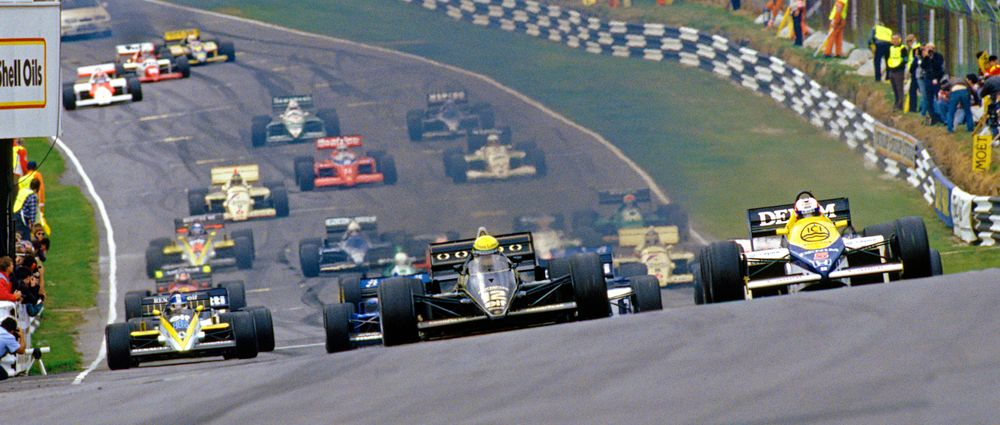On This Day In F1 - First Win For Mansell, First Title For Prost