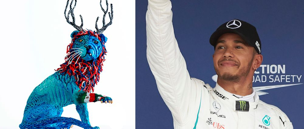 These Funky Sculptures Represent Each Driver On The F1 Grid