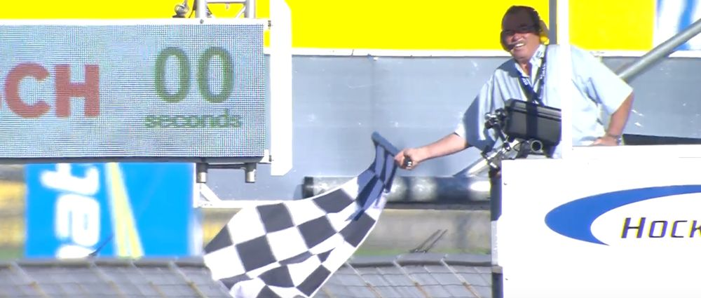 The Chequered Flag Went Out Too Early In An F3 Race At Hockenheim