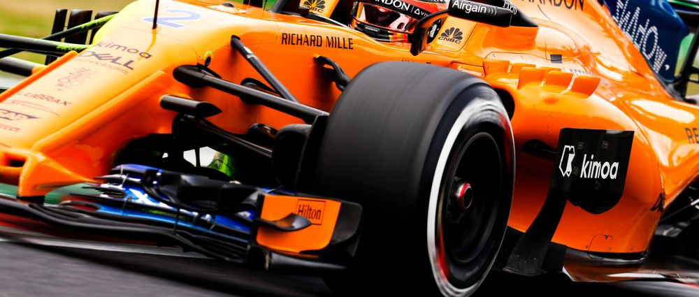 McLaren Apparently Forgot To Choose Its Tyre Compounds For