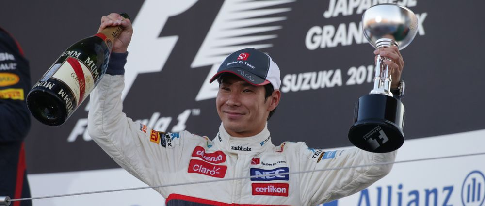 On This Day In F1 - Kobayashi Gets A Podium And Hamilton Bins It In The Pits