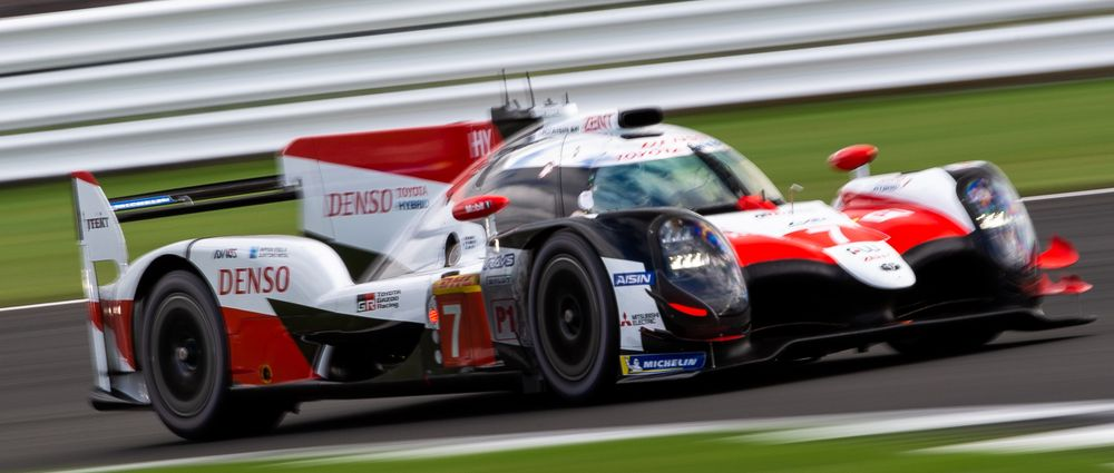 The No.7 Toyota Has Been Stripped Of Pole Position In Fuji For Speeding In The Pit Lane