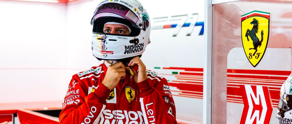 Vettel Is Continuing To Be A Great Team Player Despite Ferrari's Qualifying Error