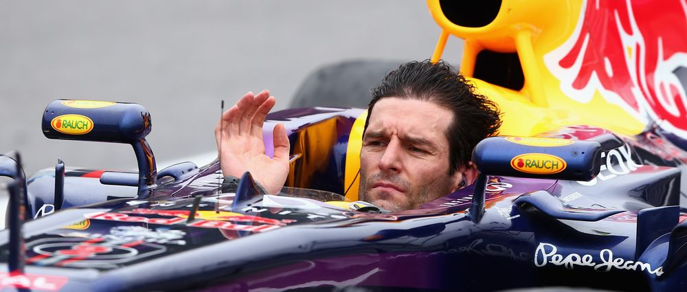 On This Day In F1 - Webber Drove An F1 Car With No Helmet On