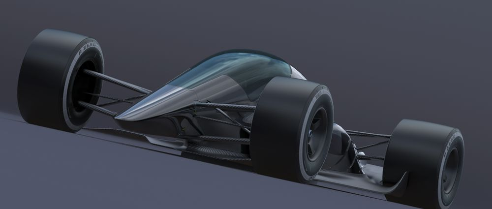 This Turbine-Powered Fan Car Could Be The Alternative Future Of Motorsport