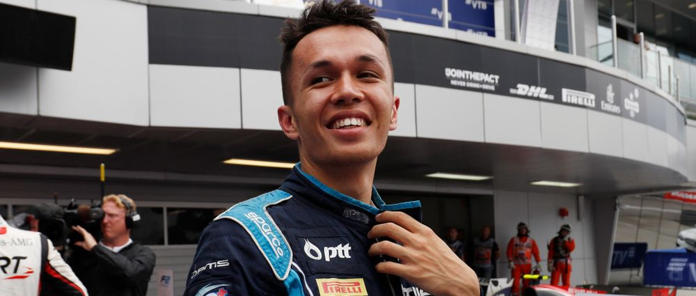Confirmed: Alexander Albon Will Race For Toro Rosso In 2019