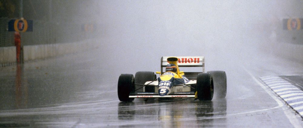 On This Day In F1 - 13 Cars Crashed Out Of A Seriously Soggy Australian GP