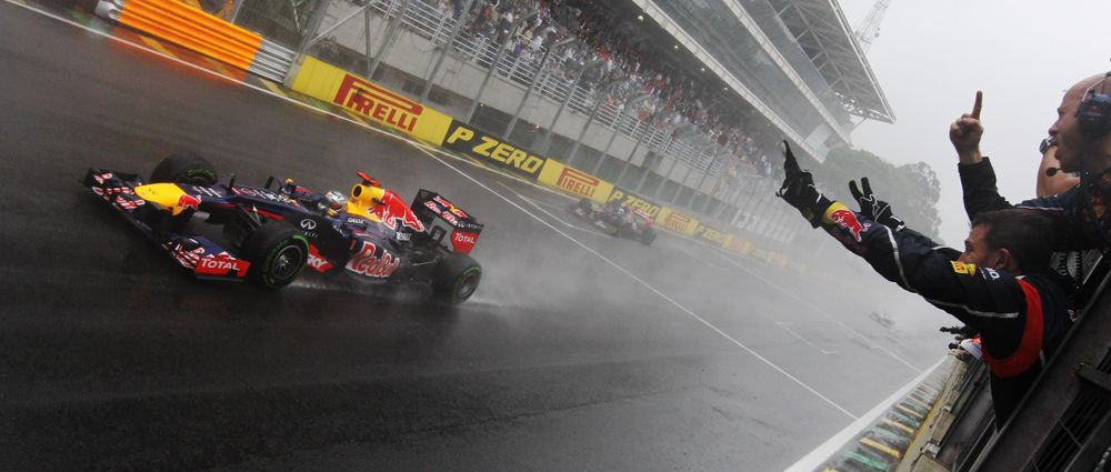 On This Day In F1 - Vettel Denies Alonso In An Epic Wet Title Decider At Interlagos