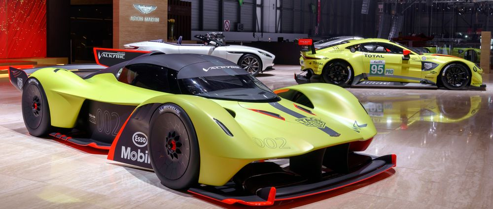 Red Bull Could Race In The WEC With The Aston Martin Valkyrie