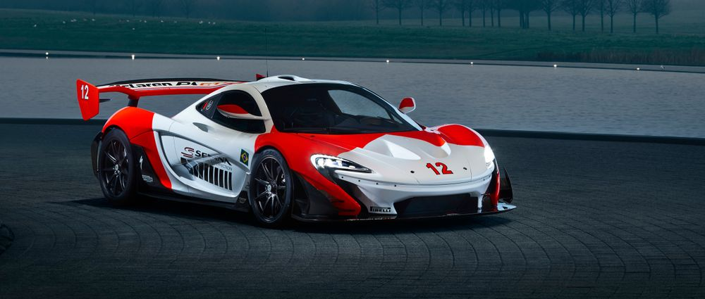 McLaren Pays Tribute To Senna With This Glorious One-Off P1 GTR