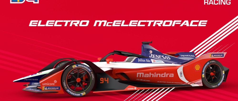 Mahindra Has Named Its Formula E Car Electro McElectroFace