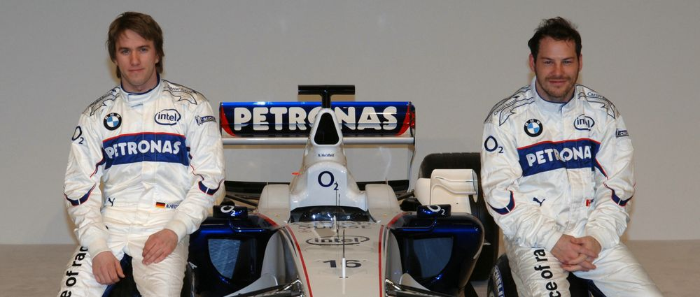 On This Day In F1 - Villeneuve Joins Heidfeld At BMW Sauber