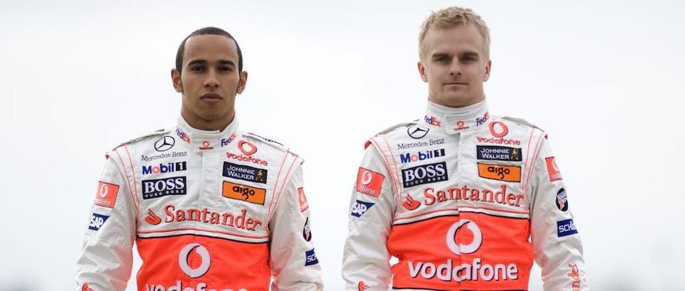 On This Day In F1 - Heikki Kovalainen Joins Hamilton At McLaren