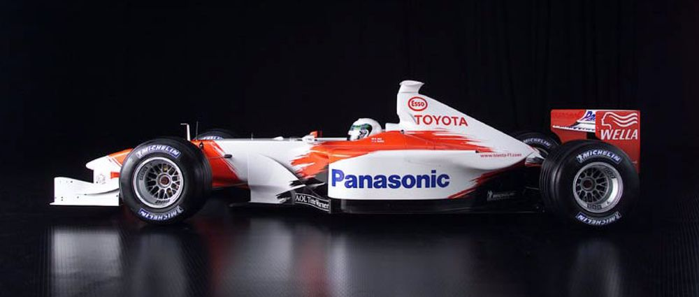 On This Day In F1 - Toyota Unveiled Its 'First' Formula 1 Challenger