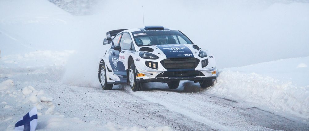 Valtteri Bottas Finished Fifth And Won A Stage On His Rallying Debut