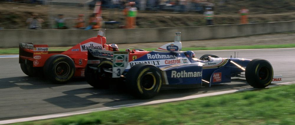On This Day In F1 - Schumacher Was 'Investigated' For Crashing Into Villeneuve