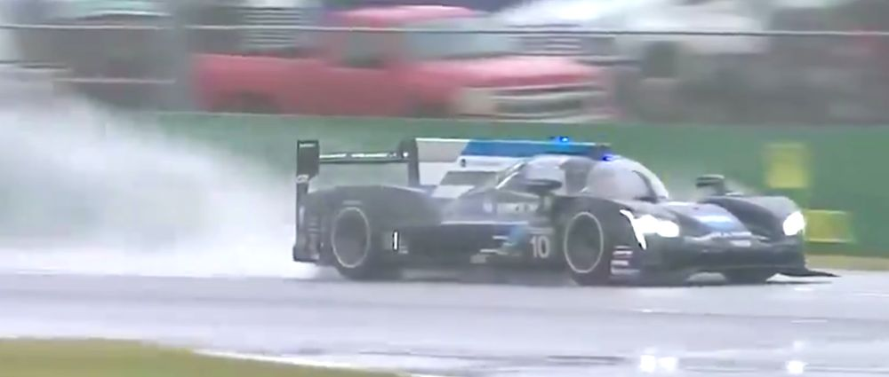 Alonso's Team Just Won A Very, Very Wet Daytona 24 Hours