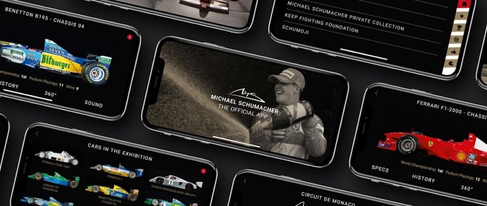 An Official App Is Being Released To Celebrate Schumacher's 50th Birthday