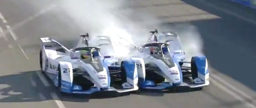 BMW Teammates Take Each Other Out Of The Lead In Another Outrageous Formula E Race