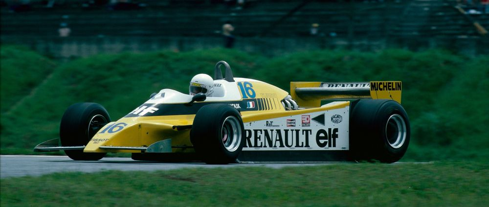 Circuit Interlagos : On this day in f1 arnoux wins the last race at the original interlagos