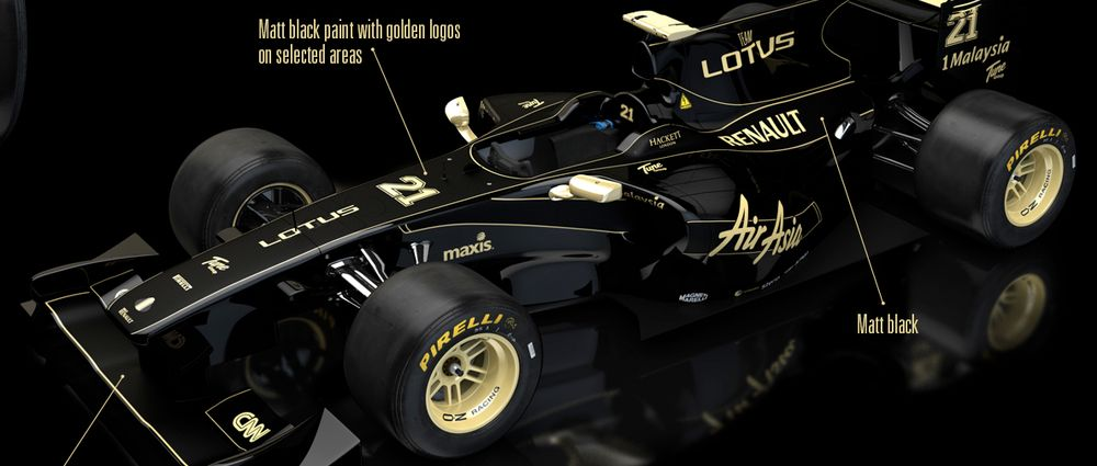 The Black And Gold Formula 1 Car That You Forgot About