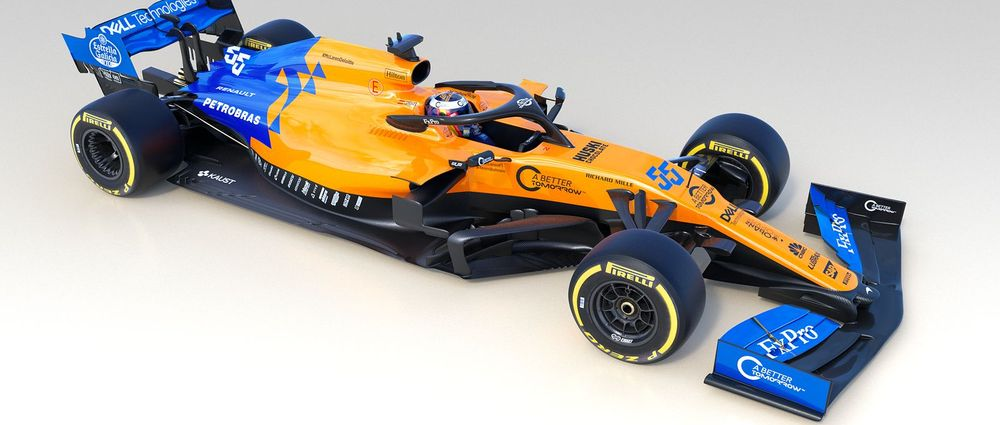 McLaren Has Revealed The MCL34 And Its Funky Blue And Papaya Livery