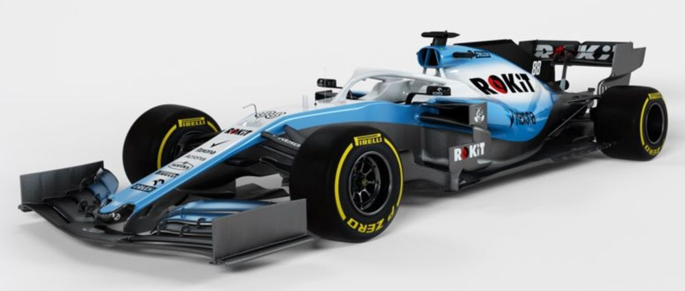 Williams Has Released Some Full Renders Of The New FW42