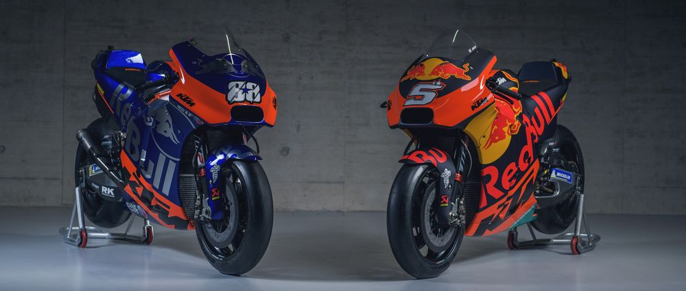 There's A Red Bull/Toro Rosso Vibe Going On Between These Two MotoGP Teams