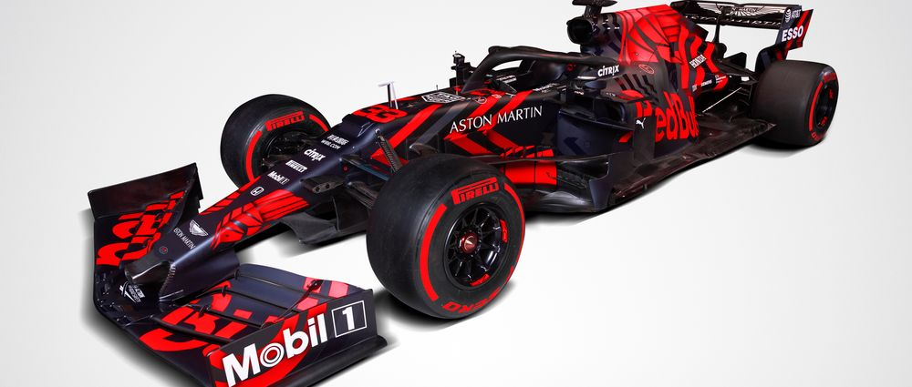 The New Red Bull Has An Awesome Launch Livery Which Makes It Look Like An Old Toro Rosso