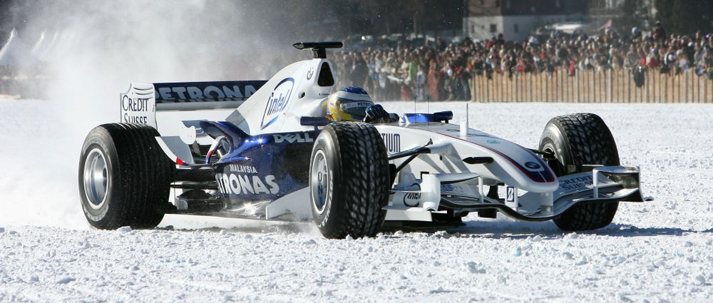 On This Day In F1 - Heidfeld Went For A Spin In The Snow