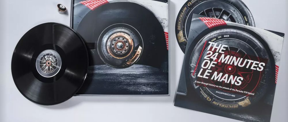 Porsche Has Used Tyres From Its Le Mans-Winning 919 Hybrid To Make A Vinyl