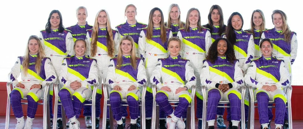 Here Are The 18 Drivers Who Will Race In The Inaugural W Series Season