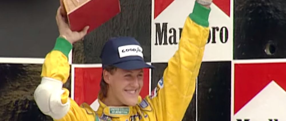 On This Day In F1 - Schumacher Scored His First Podium