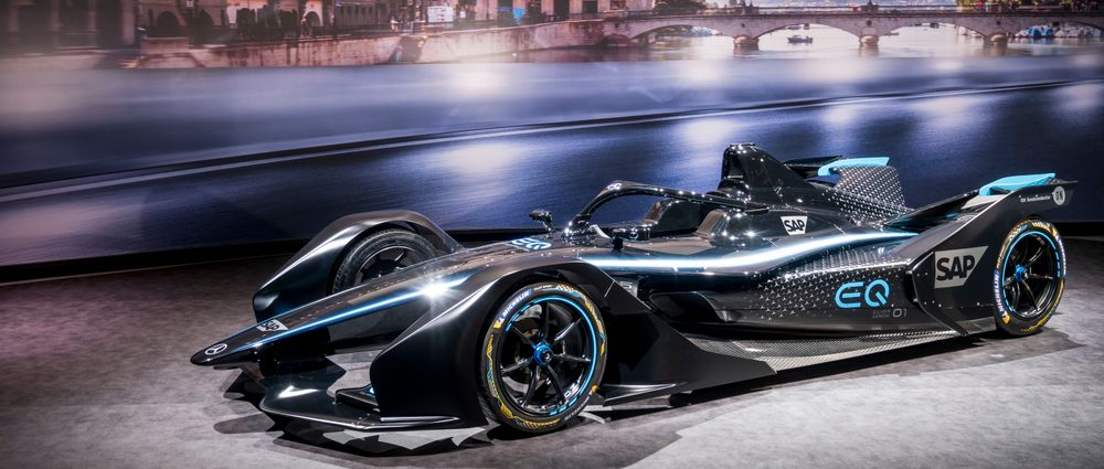 Mercedes Has Launched A 'Teaser' Livery For Its Formula E Team