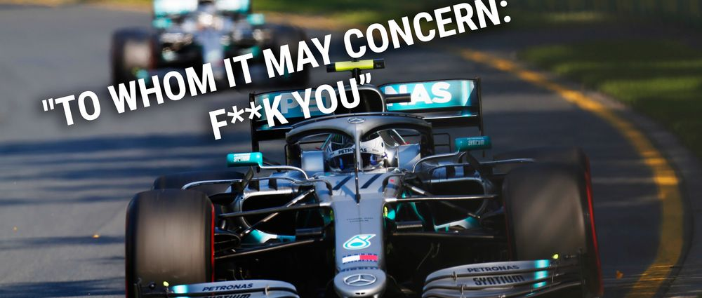"""Bottas Sent A Spicy Team Radio Message After His """"Best Race Ever"""""""