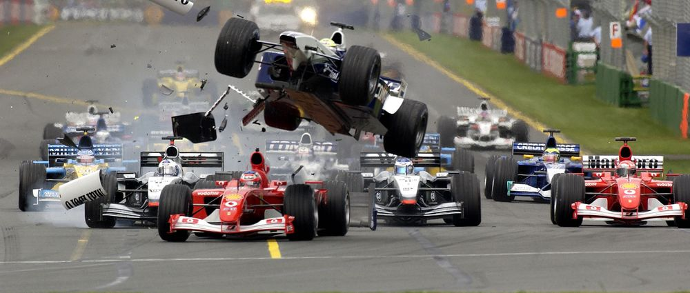 On This Day In F1 - Ralf Schumacher Had A Flying Lesson